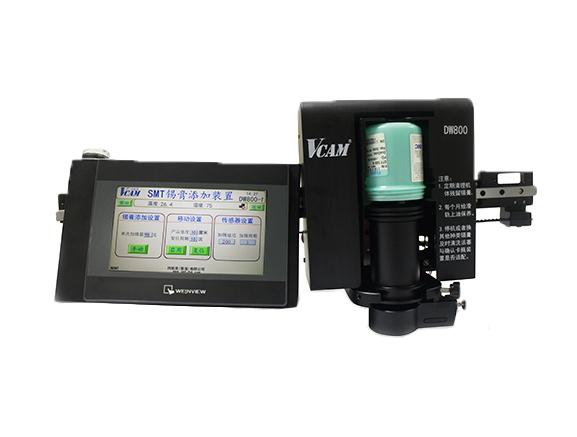SMT solder paste adding device